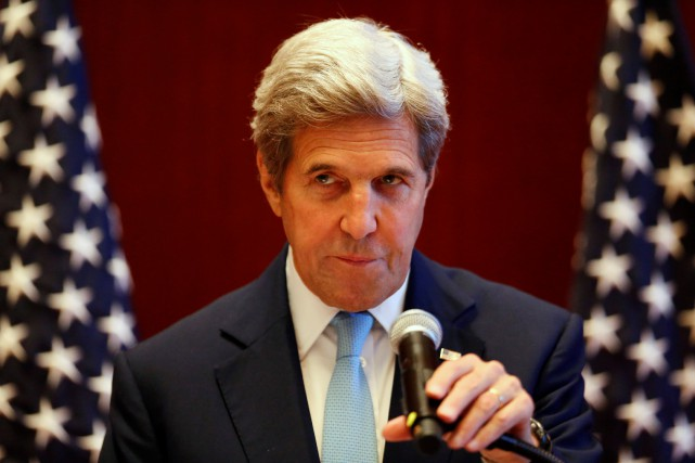 John Kerry a averti mardi la Corée du... (PHOTO REUTERS)