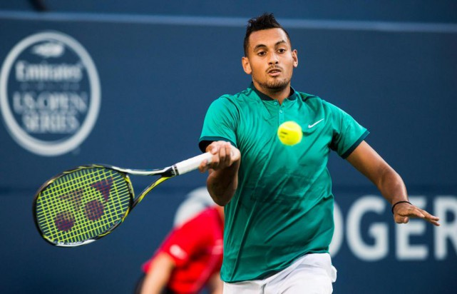 Nick Kyrgios... (La Presse Canadienne)