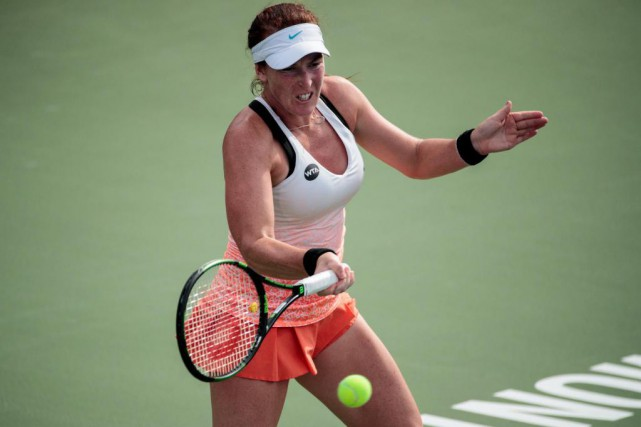 À l'été 2014, l'Américaine Madison Brengle a noté une... (Photo Hugo-Sébastien Aubert, La Presse)