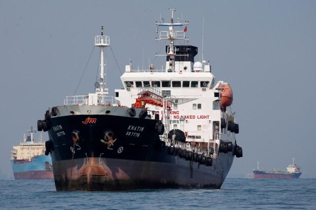 Près de 300 pétrolierspartiront annuellement du terminal de... (photo Edgar Su, archives REUTERS)