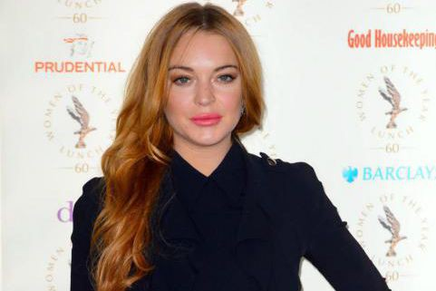L'actrice Lindsay Lohan a accusé son fiancé de... (PHOTO ARCHIVES AP)