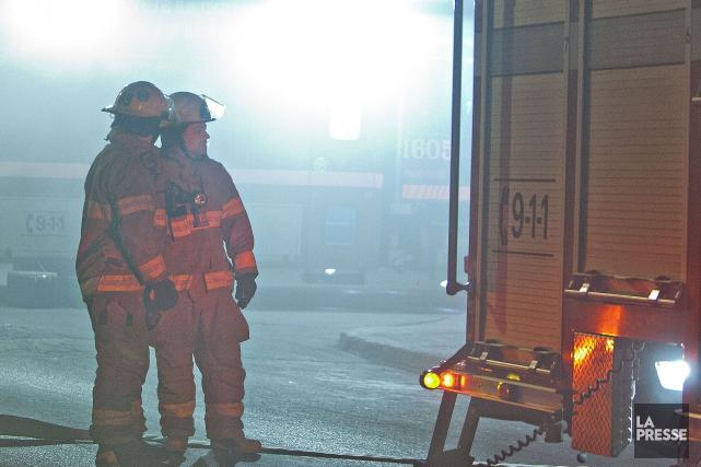 Un feu de cuisson survenu au cours de la nuit de lundi à mardi au 25 rue... (Archives La Presse)