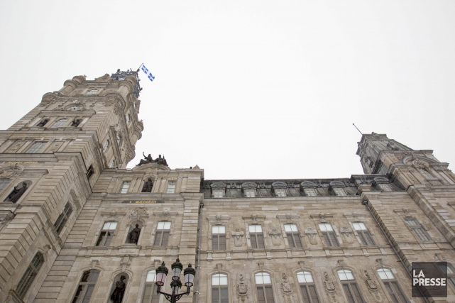L'Assemblée nationale, à Québec... (Photo IVANOH DEMERS, LA PRESSE)