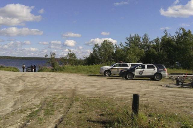 Les policiers de la Sûreté du Québec ont... (Justin Chachai)