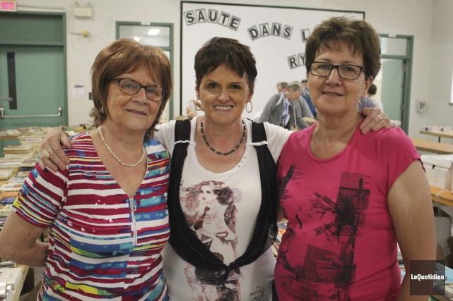 Ghislaine Bouchard, Lise Morin et Lise Théberge travaillent... (Photo Le Quotidien, Isabelle Tremblay)