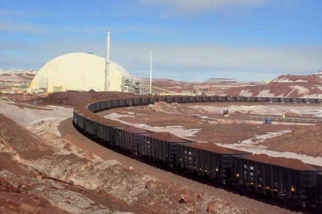 En exploitation depuis 2013, le site DSO de... (Fournie par Tata Steel Minerals Canada)