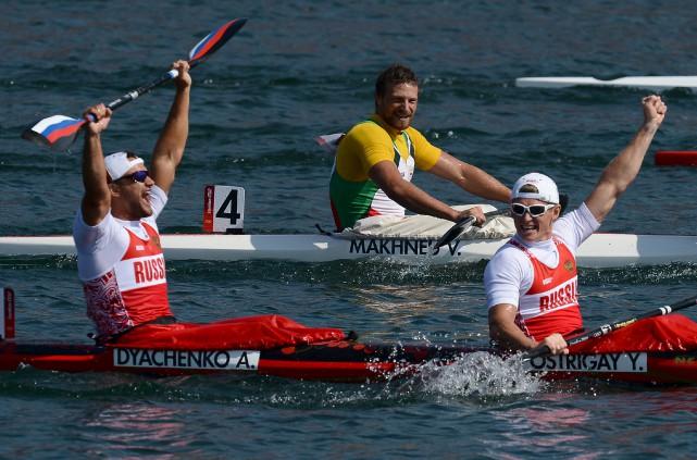 Le médaillé d'or des Jeux de Londres en... (AFP)