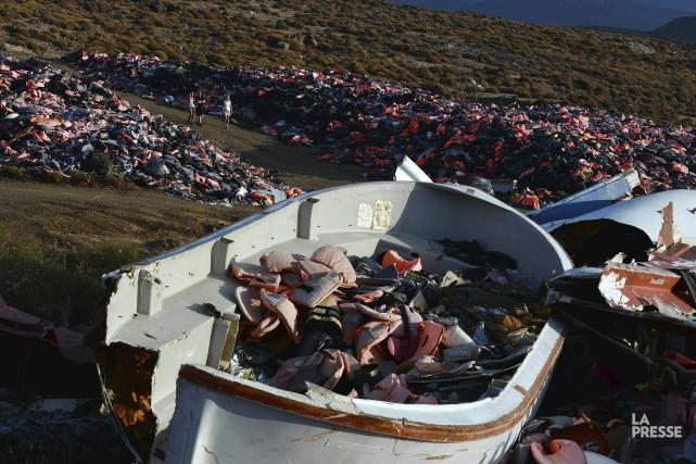 Près de 160000 migrants sont arrivés en Grèce,... (AFP)