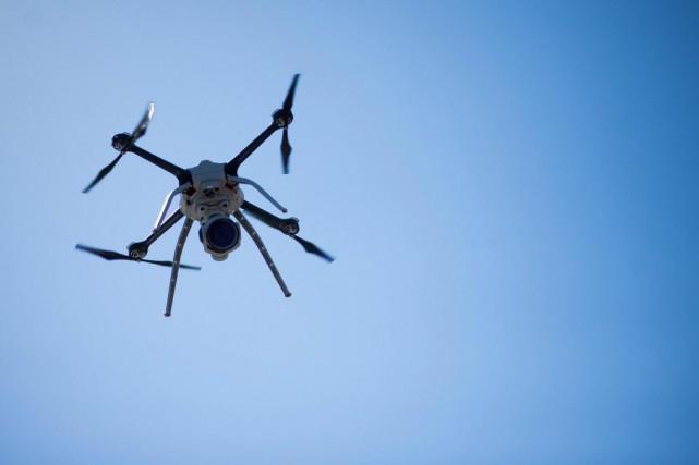 Les survols de drones dans les environs du... (ARCHIVES BLOOMBER)
