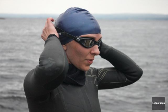 Heidi Levasseur a pu atteindre le quai de... (Le Quotidien)