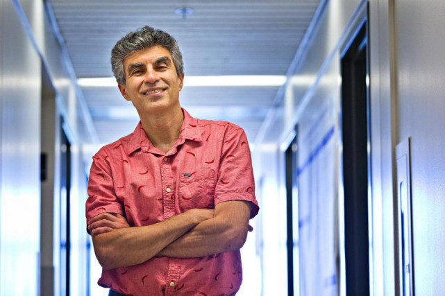 Yoshua Bengio,directeur de l'Institut des algorithmes d'apprentissage de... (Photo Patrick Sanfaçon, Archives La Presse)