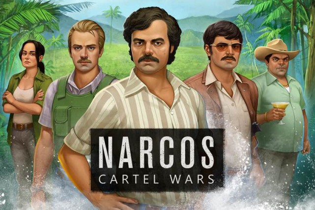 L'application mobile Narcos Cartel Wars est le fruit... (IMAGE FOURNIE PAR FTX GAMES)