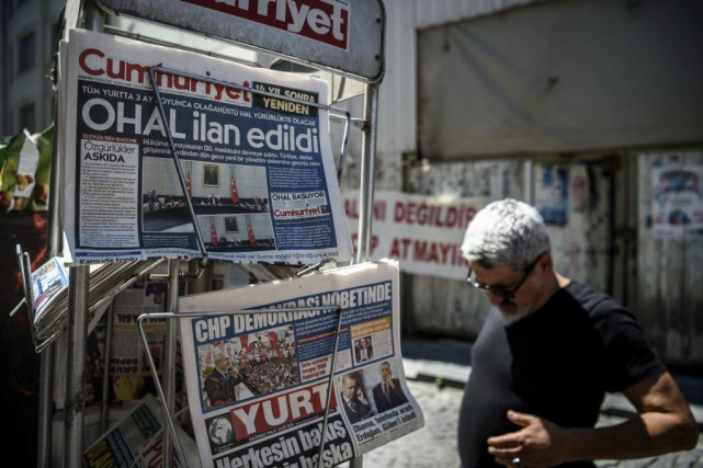 Les autorités turques ont ordonné la fermeture de... (ARCHIVES AFP)