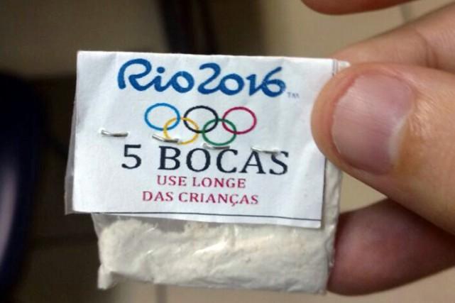 Les dealers de Rio de Janeiro sont fins prêts pour les jeux Olympiques (5-21... (PHOTO REUTERS)