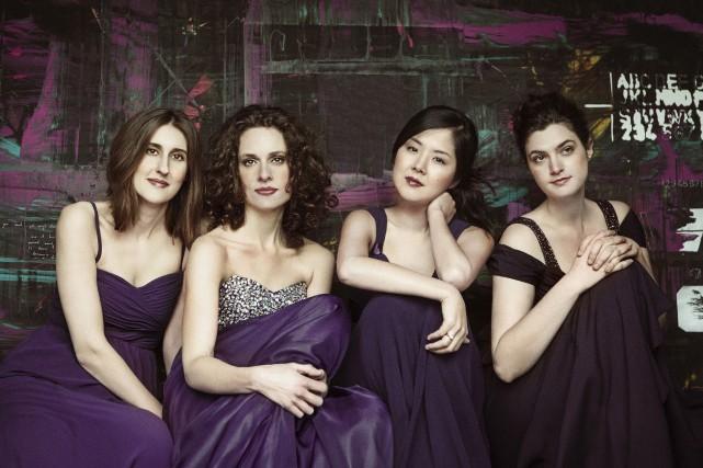 Le Cecilia String Quartet fera à nouveau résonner... (Courtoisie)