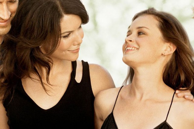 Lauren Graham et Alexis Bledelreprennent du service dansGilmore... (Fournie par The WB)