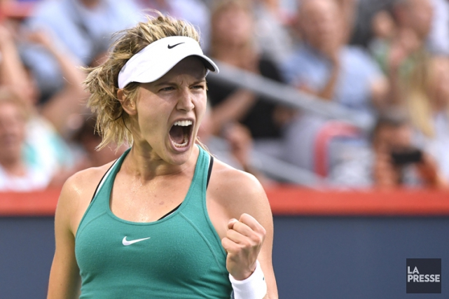 Eugenie Bouchard... (PHOTO BERNARD BRAULT, LA PRESSE)