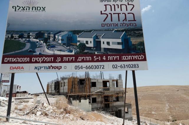 La colonisation, notamment à Jérusalem-Est, est considérée par... (PHOTO AFP)