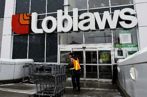 Loblaw a affiché un profit de 886 millions... (Photo archives La Presse Canadienne)