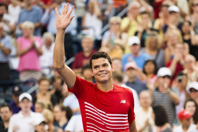 Milos Raonic... (PHOTO PC)