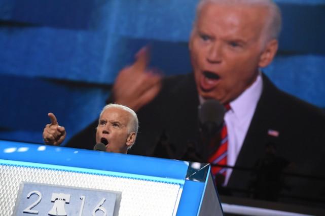 Joe Biden a peut-être livré le dernier discours... (PHOTO AFP)