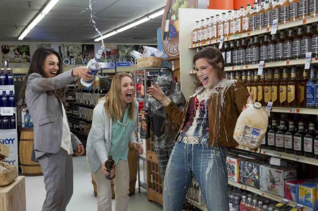 Amy (Mila Kunis), Kiki (Kristen Bell)et Carla (Kathryn... (Fournie par Les Films Séville)