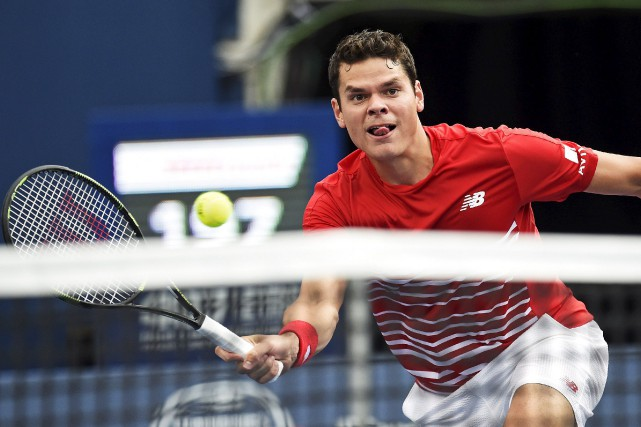 Milos Raonic affrontera l'Américain Jared Donaldson au troisième... (THE CANADIAN PRESS)