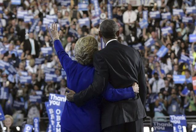 Le président américain Barack Obama a exhorté mercredi les électeurs à se... (AFP)