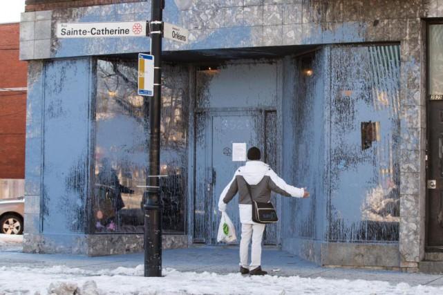 La boutique de vêtements pour Electrik Kidz, dans... (PHOTO HUGO-SÉBASTIEN AUBERT, ARCHIVES LA PRESSE)
