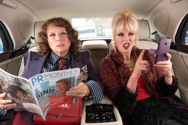 Dans le filmAbsolutely Fabulous,les deux copines londoniennes Eddy... (Photo David Appleby, fournie parFox Searchlight)
