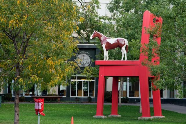 Art public et marijuana à Denver. C'est ce que propose Amy Rohrer, une guide... (PHOTO ALAIN ROBERGE, LA PRESSE)