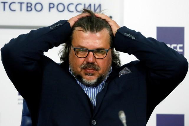 Le président de la fédération russe d'avironVeniamin Bout,... (photo Maxim Shemetov, archives REUTERS)