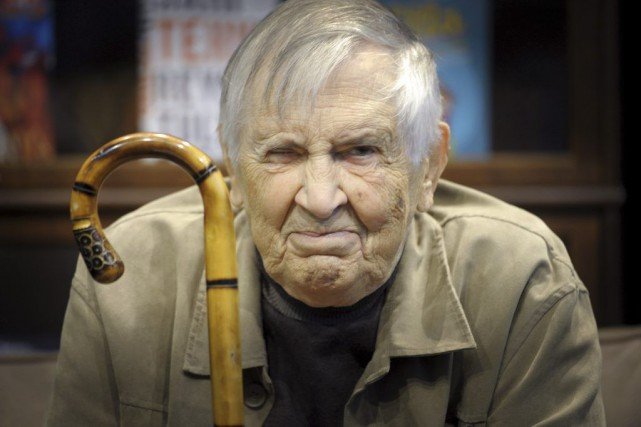 Einojuhani Rautavaara en octobre 2014.... (PHOTO ARCHIVES AFP)