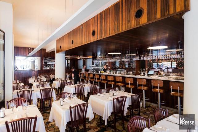 L'aménagement du restaurant Leméac a été réalisé parfeu... (PHOTO ÉDOUARD PLANTE-FRÉCHETTE, LA PRESSE)