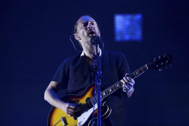 Thom Yorke... (AFP, Patricia de Melo Moreira)