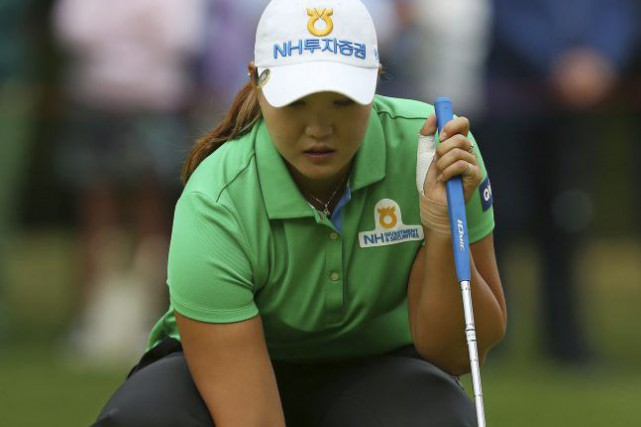 Mirim Lee... (PHOTO GEOFF CADDICK, AGENCE FRANCE-PRESSE)