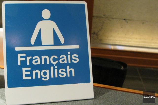 La désignation du statut officiel du français et de l'anglais au sein de la... (Patrick Woodbury, Archives LeDroit)