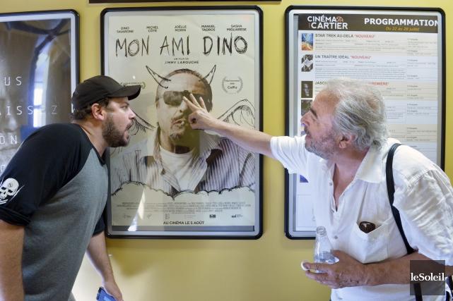 Le réalisateur Jimmy Larouche connaît Dino Tavarone depuis... (Le Soleil, Jean-Marie Villeneuve)