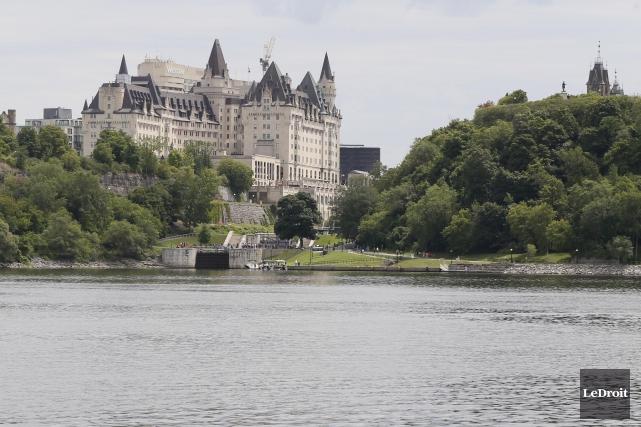 Seule la portion ontarienne de la rivière des... (Simon Séguin-Bertrand, LeDroit)