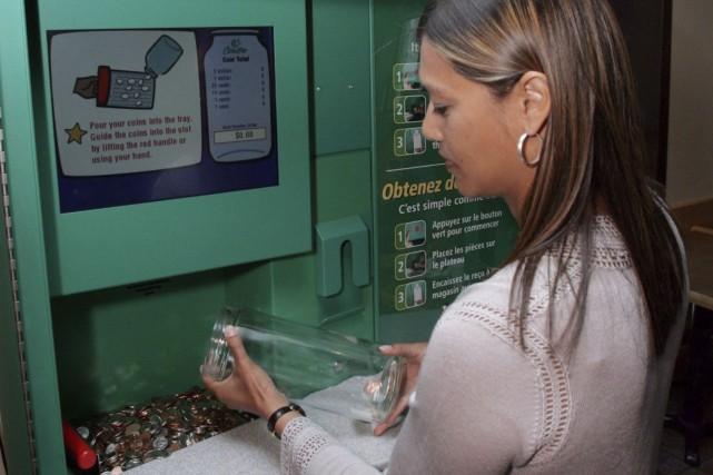 La Banque TD s'est débarrassée des machines Coinstaren... (La Presse Canadienne, Jonathan Hayward)