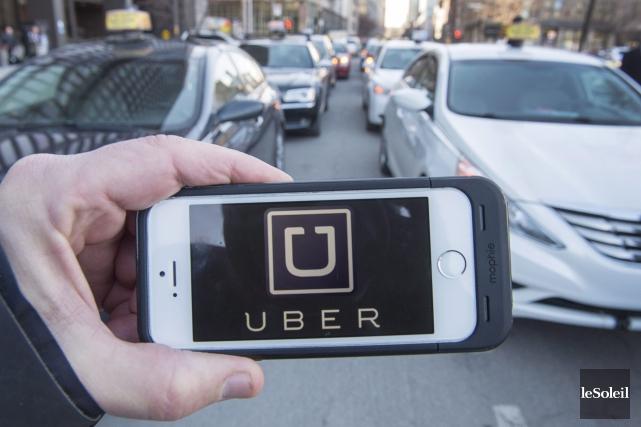 Uber avait été déboutée en Cour supérieure il... (Photothèque Le Soleil)