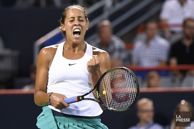 Madison Keys... (PHOTO BERNARD BRAULT, LA PRESSE)