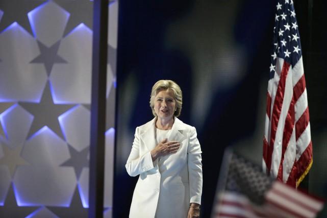 «Je veux remercier Bernie Sanders. Et vous qui... (Photo Gary Cameron, REUTERS)