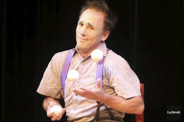Jamie Adkins sera en spectacle pour plusieurs représentations... (Etienne Ranger, LeDroit)