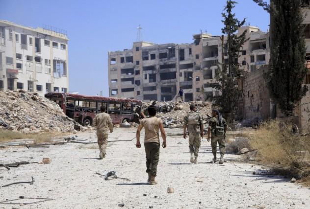 L'opération russe pourrait ouvrir la voie à la... (AFP, George Ourfalian)