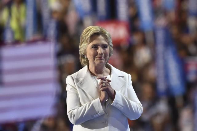 La candidate du parti démocrate à la présidentielle... (AFP, Nicholas Kamm)