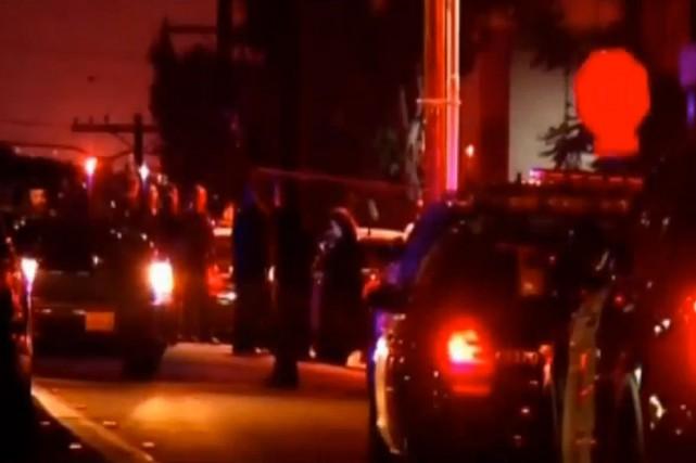Lafusillade est survenue vers 23 h, à San... (IMAGE TIRÉE D'UNE VIDÉO DE NBC NEWS)