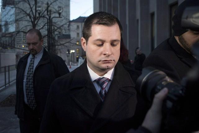 L'agent James Forcillo.... (Photo archives La Presse Canadienne)