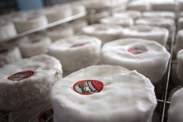 Le camembert est-il normand? Le fromage à pâte molle, emblème planétaire du... (PHOTO AFP)