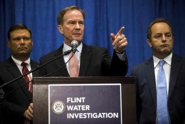 «Beaucoup de choses ont tragiquement mal tourné à... (Photo Jake May/The Flint Journal-MLive.com via AP)